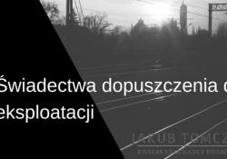 świadectwa_eksploatacja